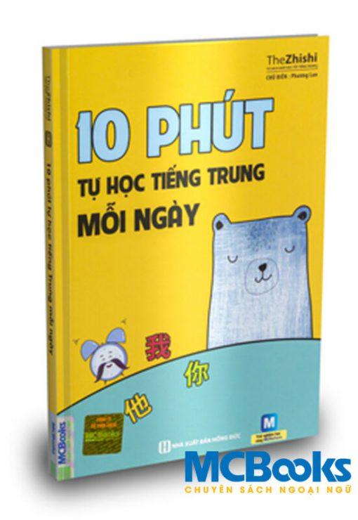 10 phút tự học tiếng Trung mỗi ngày bìa trước