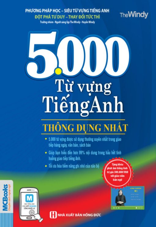 5000 từ vựng tiếng Anh thông dụng nhất