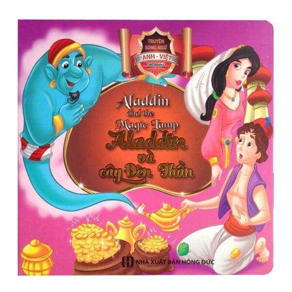 Truyện cổ tích song ngữ Anh Việt – Aladdin và cây đèn thần