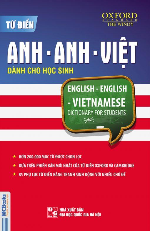 Từ điển Anh - Anh - Việt dành cho học sinh