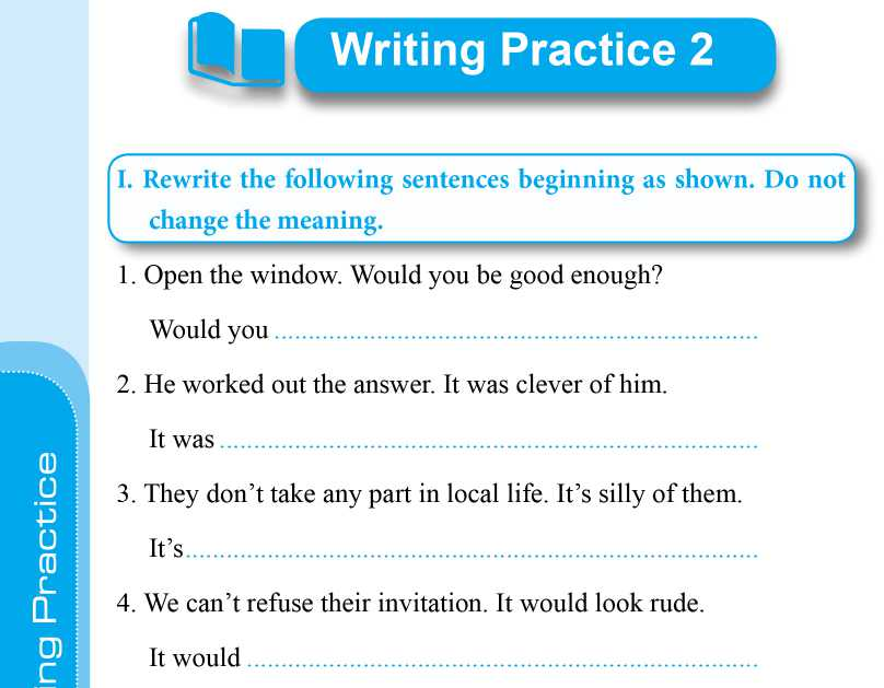 Bài tập bổ trợ kĩ năng viết tiếng anh