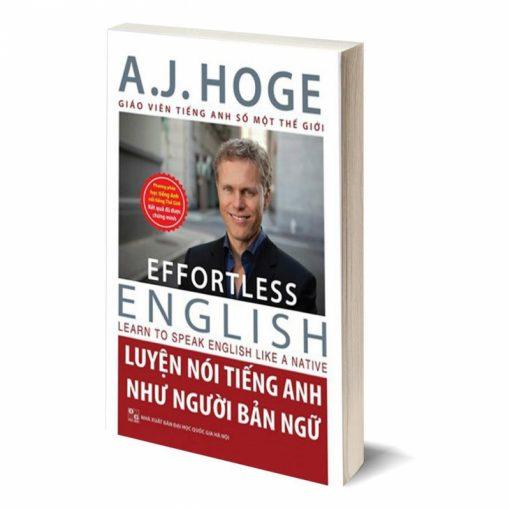 Luyện nói tiếng Anh như người bản ngữ bìa trước 3d