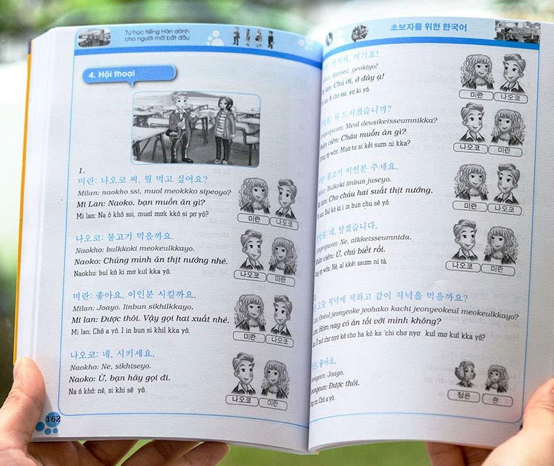 Tự học tiếng Hàn dành cho người mới bắt đầu