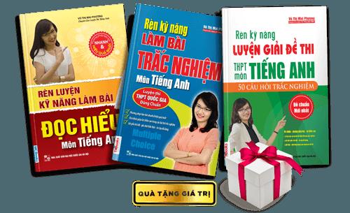 bộ sách của cô mai phương cho kỳ thi THPTQG