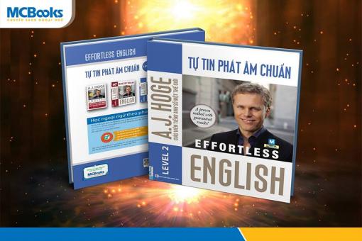 Effortless English - Tự tin phát âm chuẩn bìa trước 3d