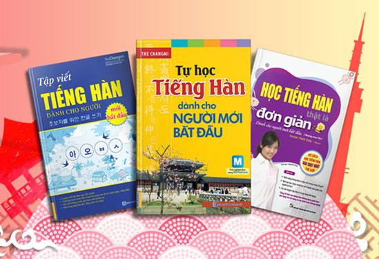 Sách học tiếng Hàn