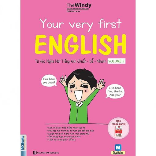 Your Very First English bìa trước 2d