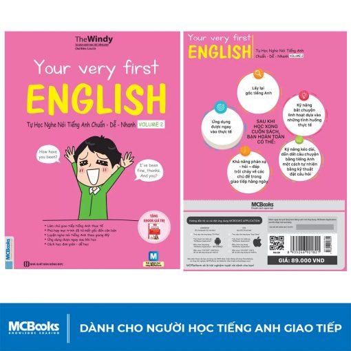 Sách Tự Học Nghe Nói Tiếng Anh Chuẩn – Dễ – Nhanh Volume 2