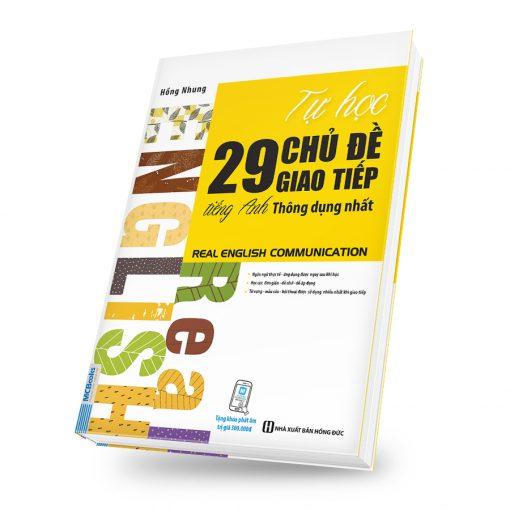 Tự Học 29 Chủ Đề Giao Tiếp Tiếng Anh Thông Dụng Nhất
