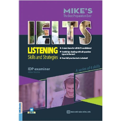 Ielts Listening: Skills and Strategies bìa trước 2d