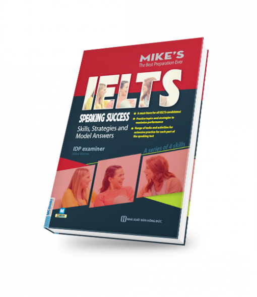 bìa sách 3D ielts speaking success