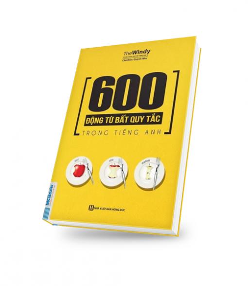 Ảnh bìa 3D- 600 động từ bất quy tắc