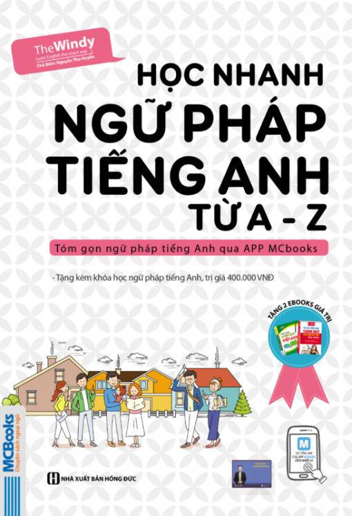 Học nhanh ngữ pháp tiếng Anh từ A - Z