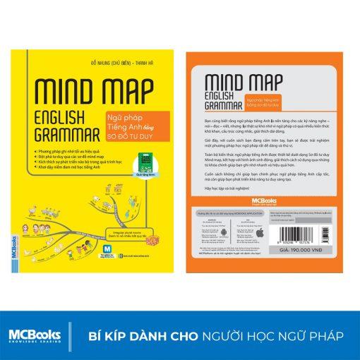 Sách Mind Map English Grammar – Ngữ pháp tiếng anh bằng sơ đồ tư duy