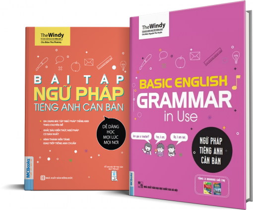 sách bìa 3D basic english grammar in use