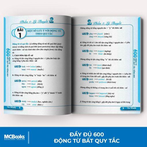 Sách 600 động từ bất quy tắc