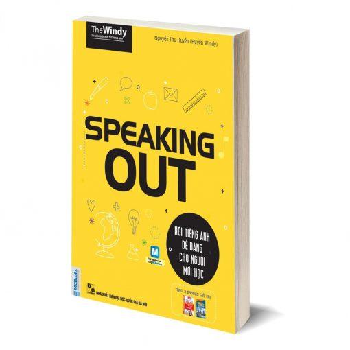 Speaking Out bìa trước 3d