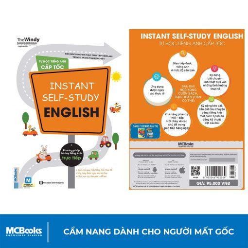 Sách Tự học tiếng Anh cấp tốc Instant self-study English