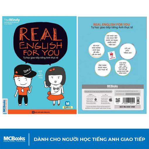 Sách Real English for you – tự học tiếng anh thực tế