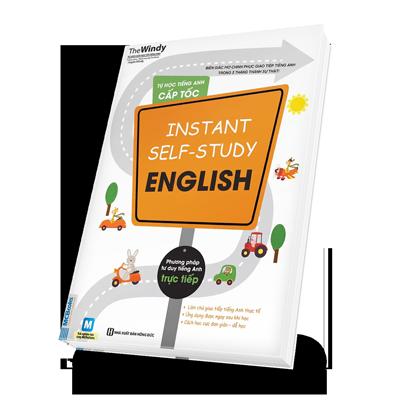 Tự học tiếng Anh cấp tốc Instant self-study English bìa trước 3d