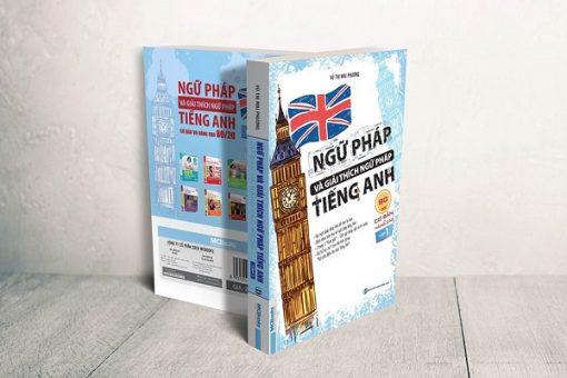 Ngữ pháp và giải thích ngữ pháp tiếng Anh 80/20 tập 1 bìa 3d