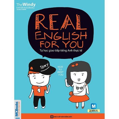 Real English For You bìa trước 2d