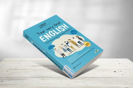 Your very first English – Tự học tiếng anh cấp tốc cho người không biết gì bìa trước 3d