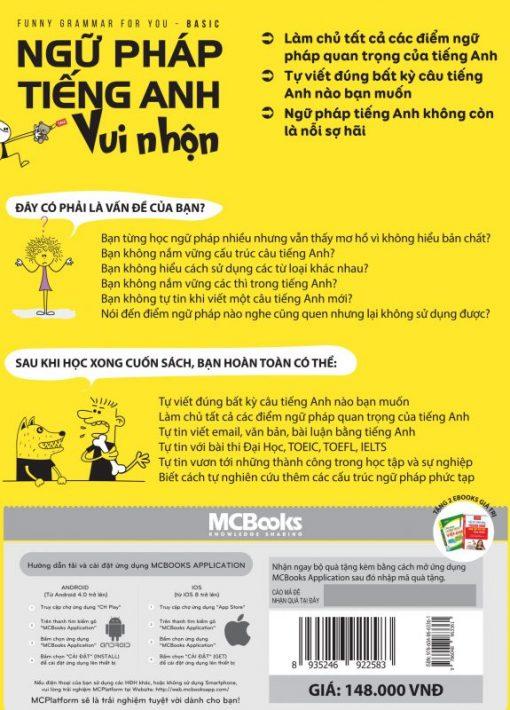 BIA SAU - Ngữ pháp tiếng Anh vui nhộn