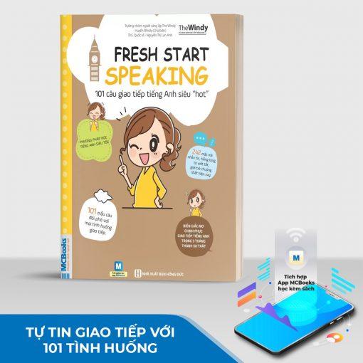 """101 câu giao tiếp tiếng Anh siêu """"hot"""" (Fresh start speaking)"""