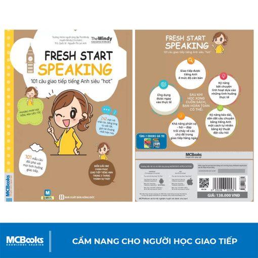 """Sách 101 câu giao tiếp tiếng Anh siêu """"hot"""" (Fresh start speaking)Sách 101 câu giao tiếp tiếng Anh siêu """"hot"""" (Fresh start speaking)"""