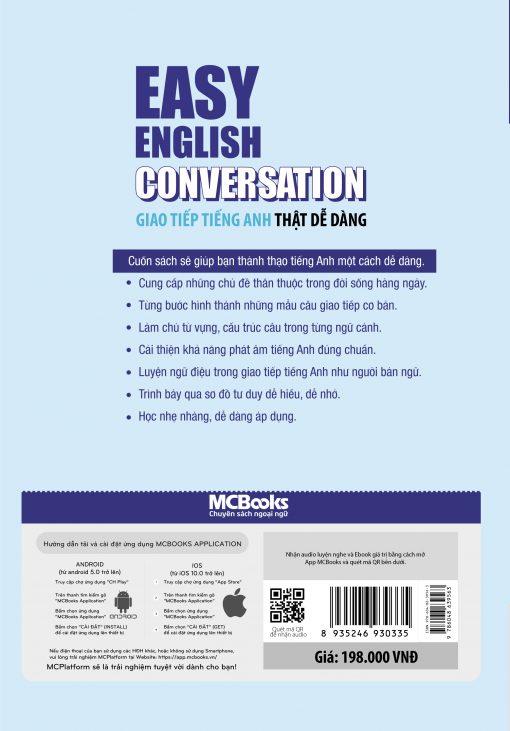 Easy English Conversation – Giao tiếp tiếng Anh thật dễ dàng