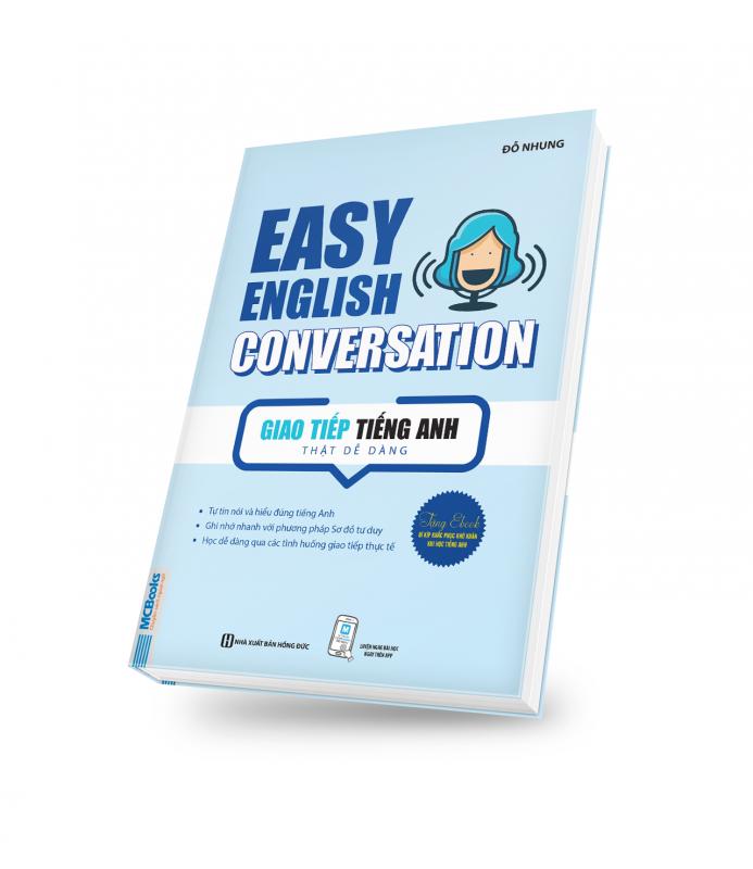 bìa sách 3D Easy english conversation