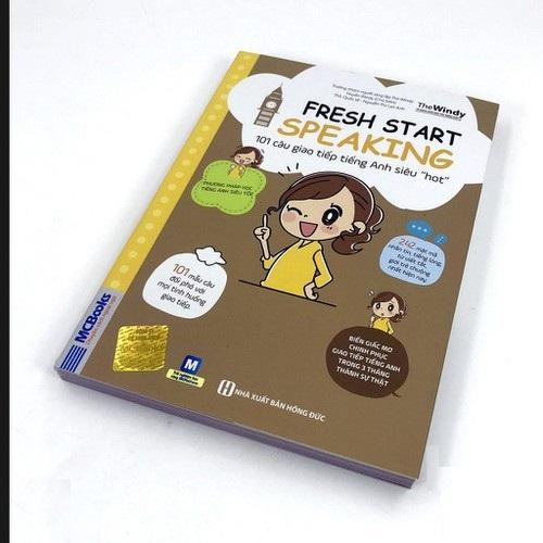 Fresh Start Speaking bìa trước 3d