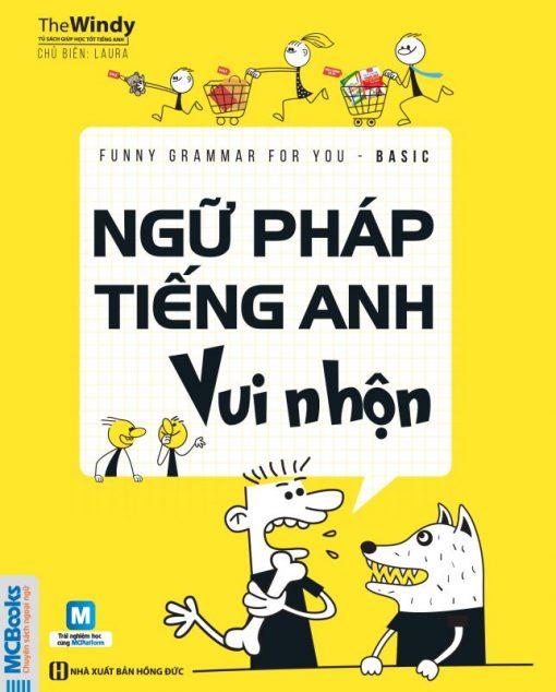 Cuốn sách Ngữ pháp tiếng Anh vui nhộn - Funny Grammar For You - Basic