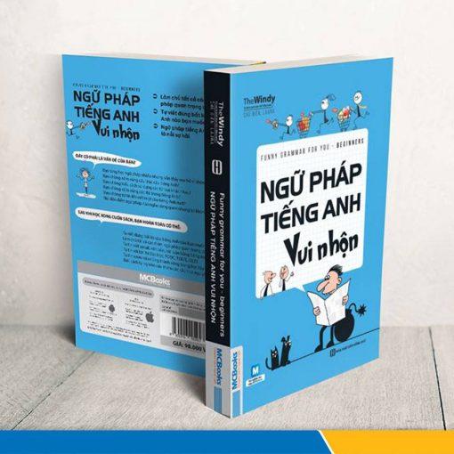 Ngữ pháp tiếng Anh vui nhộn bìa xanh dương 1