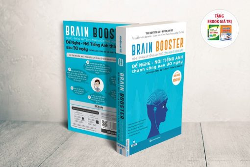 Cuốn sách Brain Booster giúp bạn giao tiếp tiếng Anh thành thạo trong 30 ngày liên tục