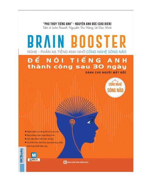 BRAIN BOOTER - nghe phản xạ tiếng anh nhờ công nghệ sóng não dành cho người mất gốc