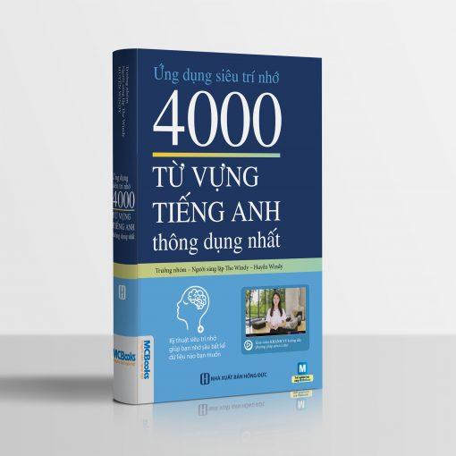 4000 từ vựng tiếng Anh thông dụng nhất bìa trước 3d