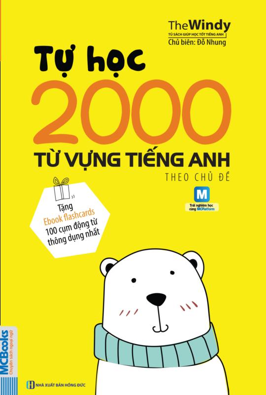 Bìa trước Tự học 2000 từ vựng tiếng Anh theo chủ đề