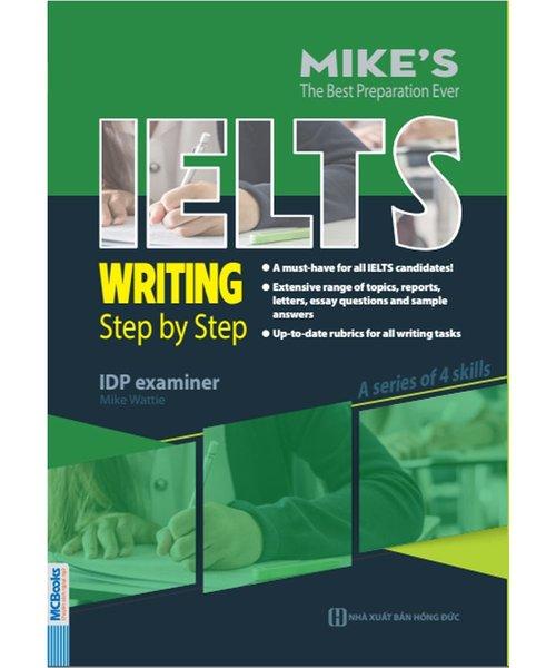 Cuốn sách hướng dẫn từng bước làm phần thi viết IELTS hiệu quả
