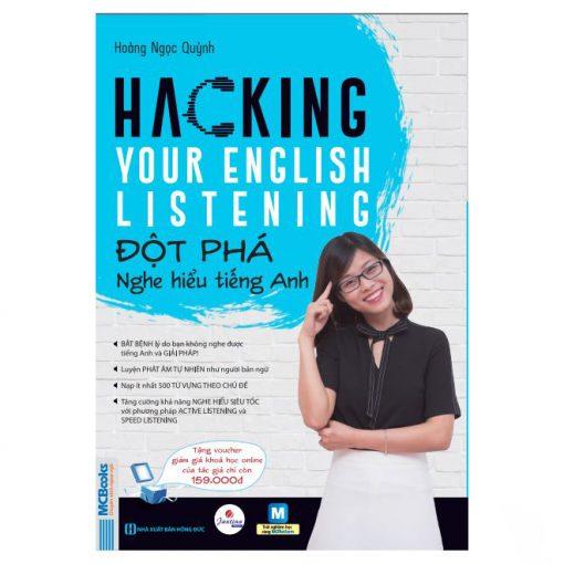 Hacking Your English Listening bìa trước 2d