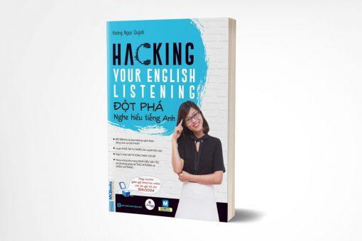 Hacking Your English Listening bìa trước 3d