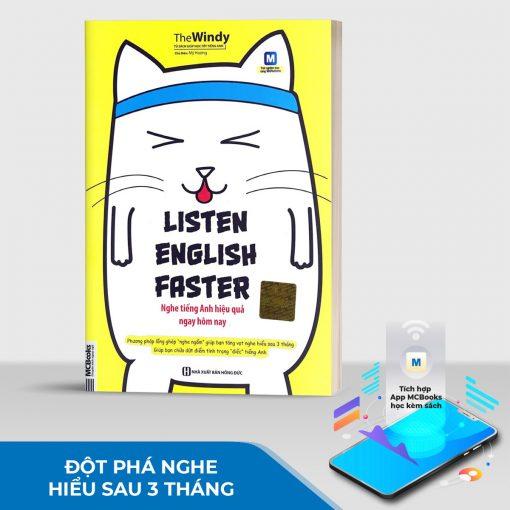 Sách Listen English Faster – Nghe tiếng Anh hiệu quả ngay hôm nay