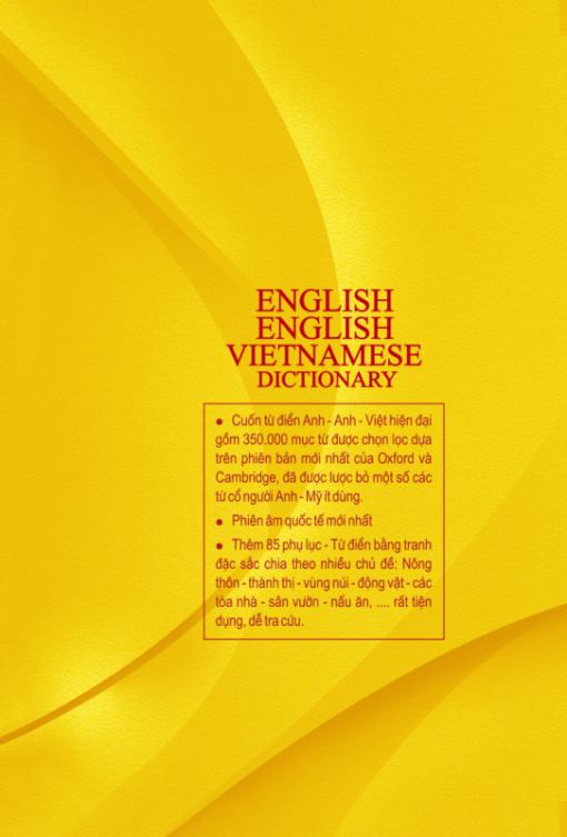 Từ điển Anh - Anh - Việt (bìa cứng)