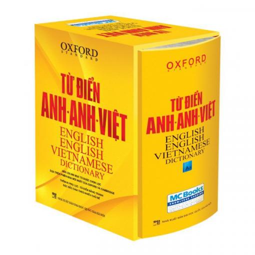 Từ điển Anh - Anh - Việt bìa vàng cứng