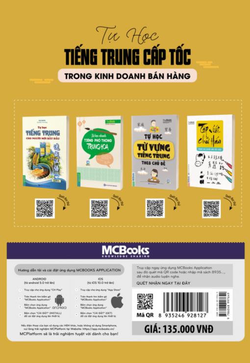 Tự học tiếng Trung cấp tốc trong kinh doanh bán hàng