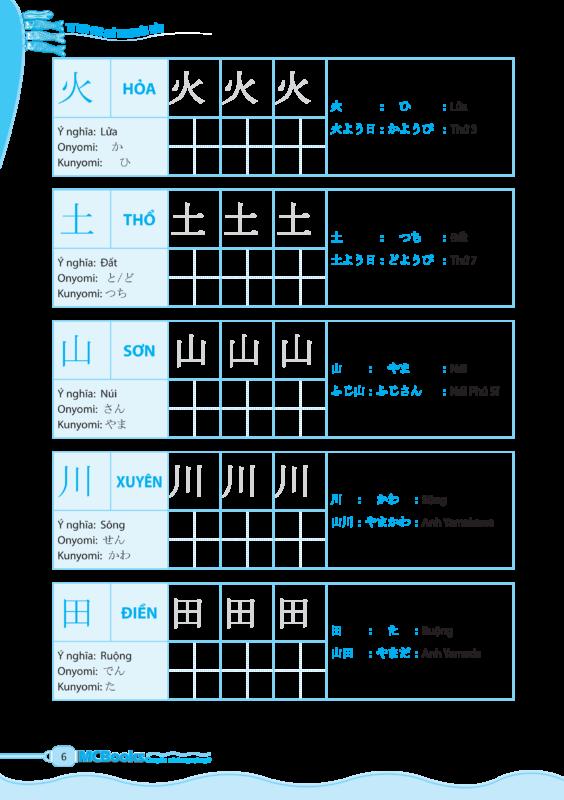 Ví dụ 1 Tu hoc 600 tu vung Kanji co ban