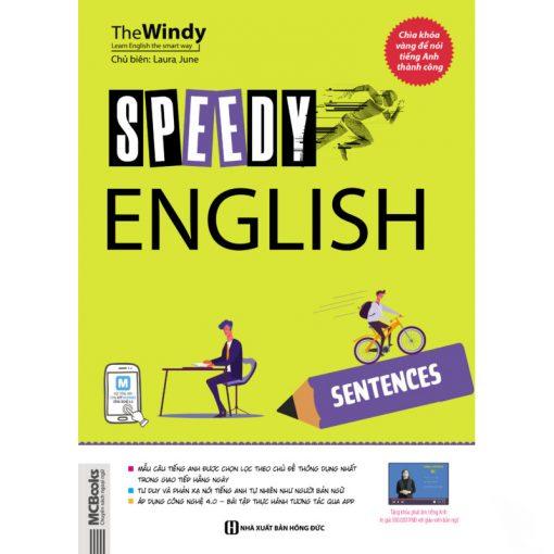 SPEEDY ENGLISH – SENTENCES bìa trước 2d