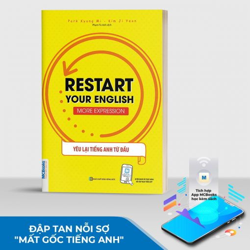 Sách Restart Your English – More Expression
