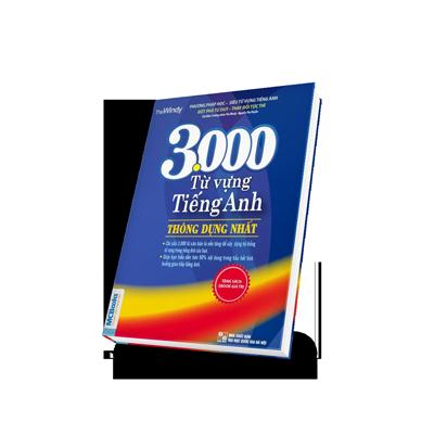 3000 từ vựng tiếng Anh thông dụng nhất bìa 3d